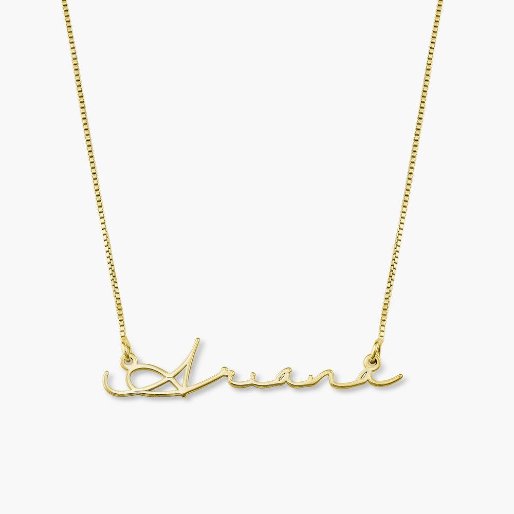 Mon Petit Name Necklace - Vermeil Gold Plated