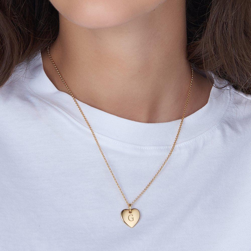 Luna Heart Necklace - Gold Vermeil - 2