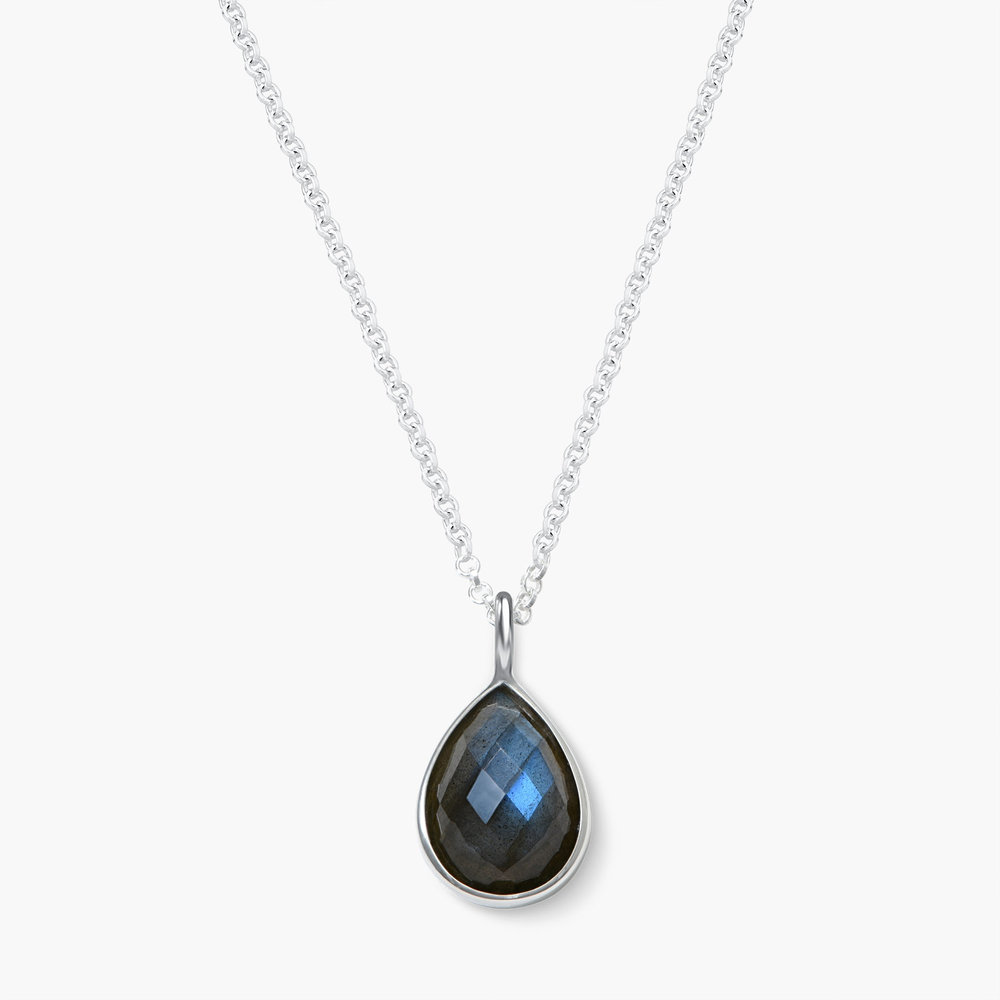 Labradorite Necklace - Silver
