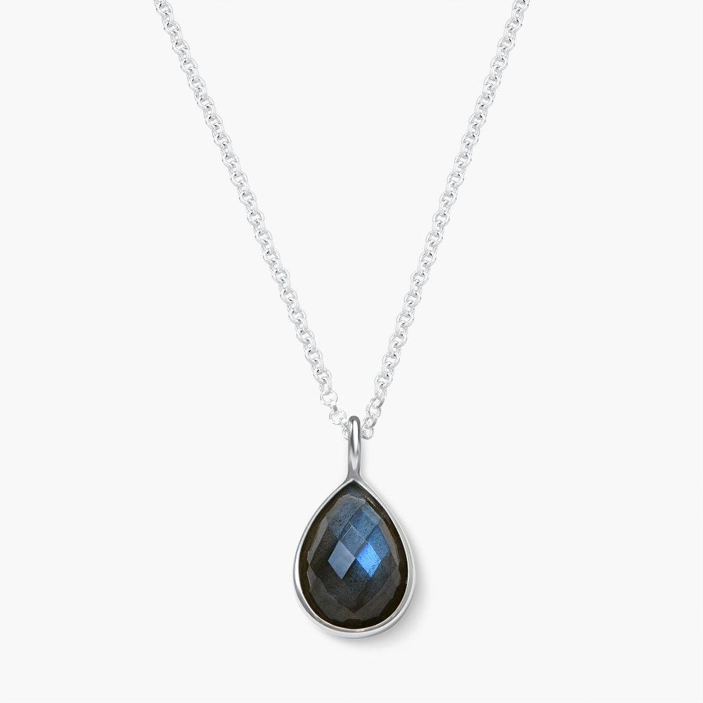 Labradorite Necklace - Silver
