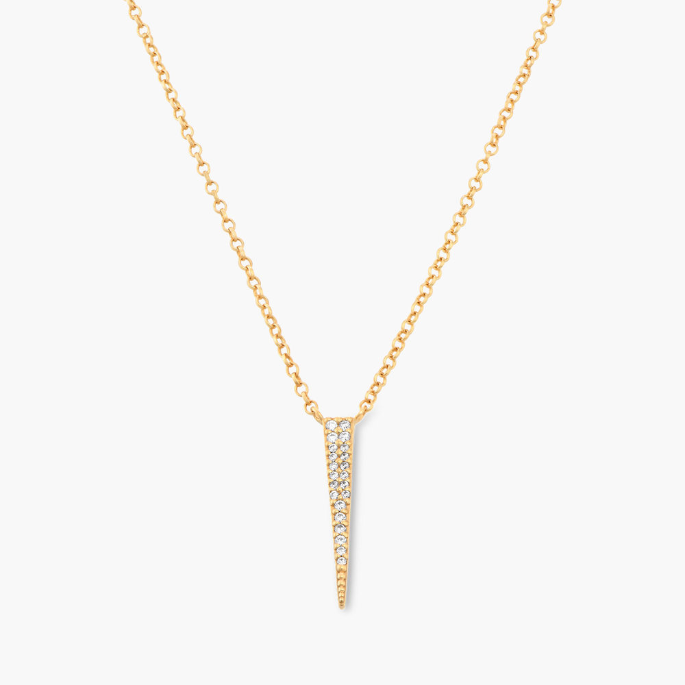 Bright Thorn Necklace - Gold Plated