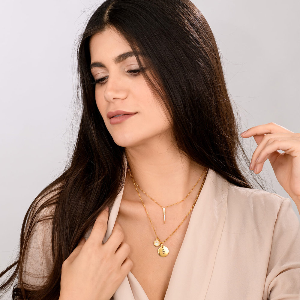 Bright Thorn Necklace - Gold Plated - 3