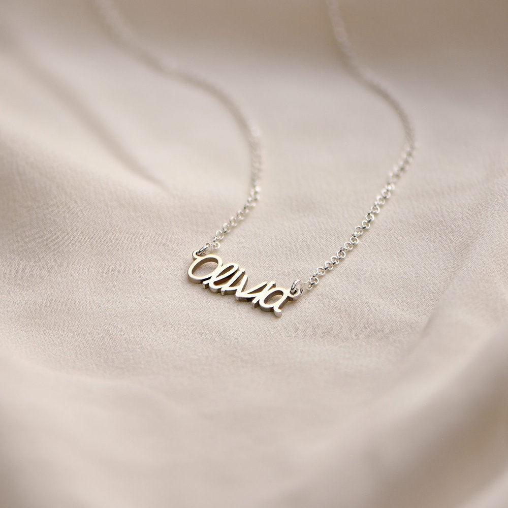 Pixie Name Necklace - Silver - 1