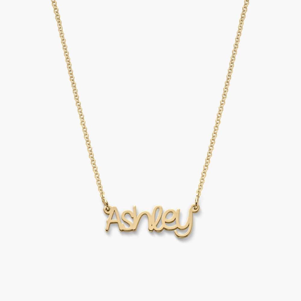 Pixie Name Necklace - Gold Vermeil