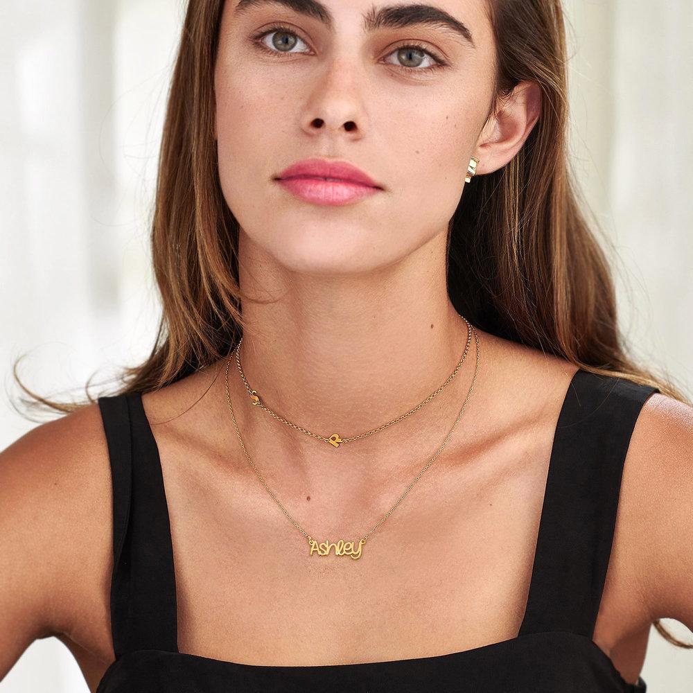 Pixie Name Necklace - Gold Vermeil - 2