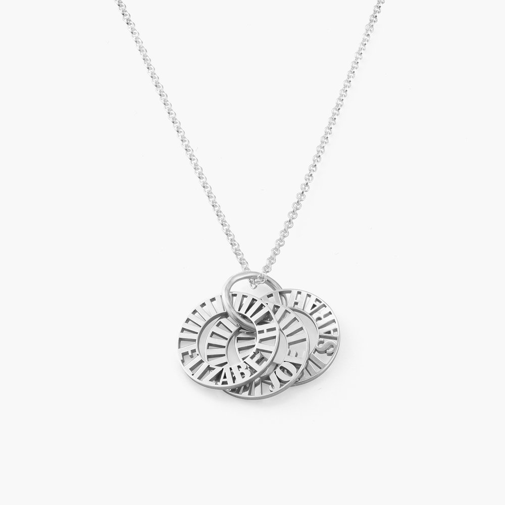 Tokens of Love Necklace - Silver - 1