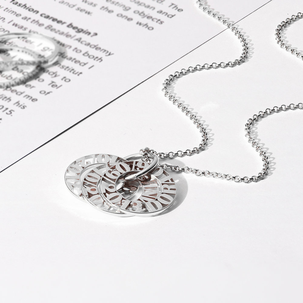 Tokens of Love Necklace - Silver - 2
