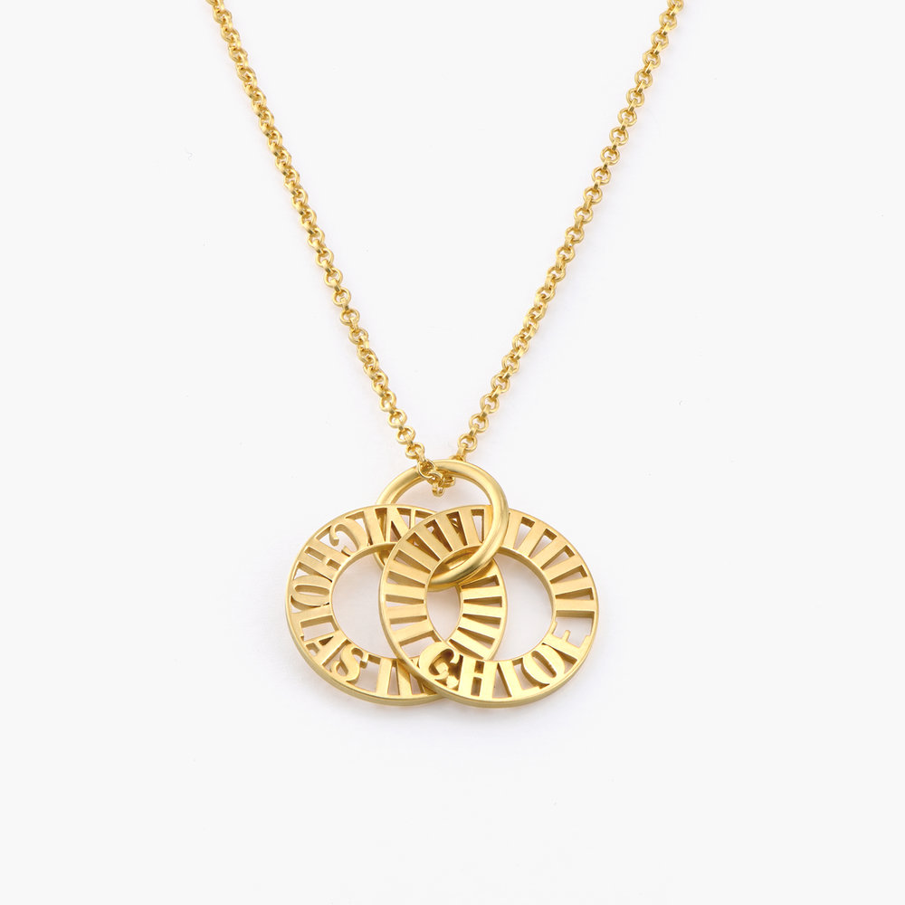 Tokens of Love Necklace - Gold Plated - 1