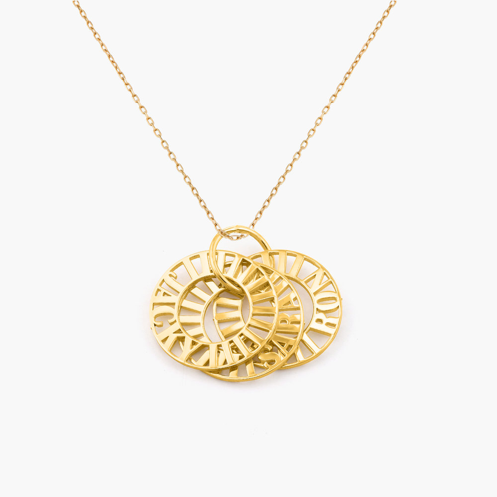 Tokens of Love Necklace - 10k Gold - 1