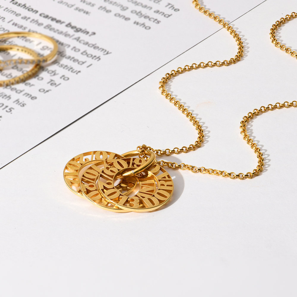 Tokens of Love Necklace - 10k Gold - 2
