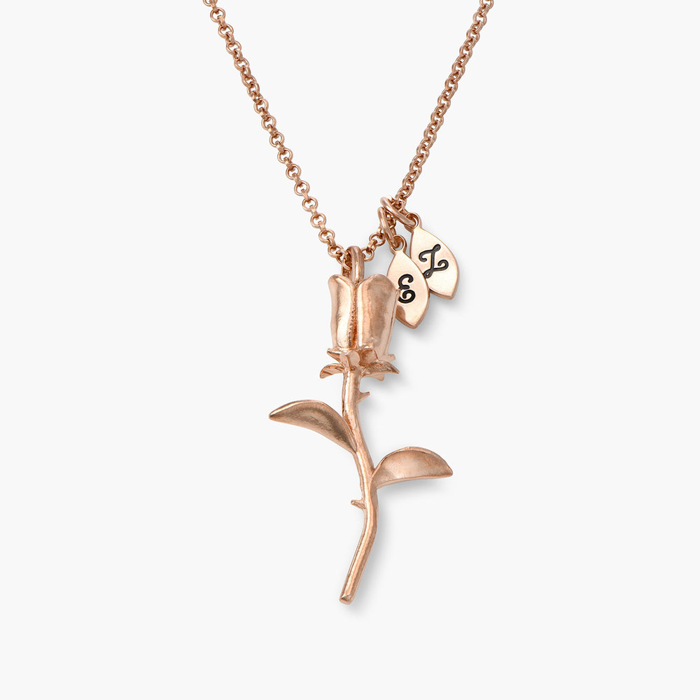 Forever Rose Necklace - Rose Gold Plated - 1