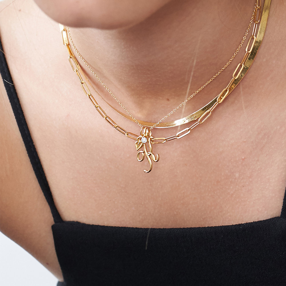 Chain Link Necklace in 18K Gold Vermeil - 3