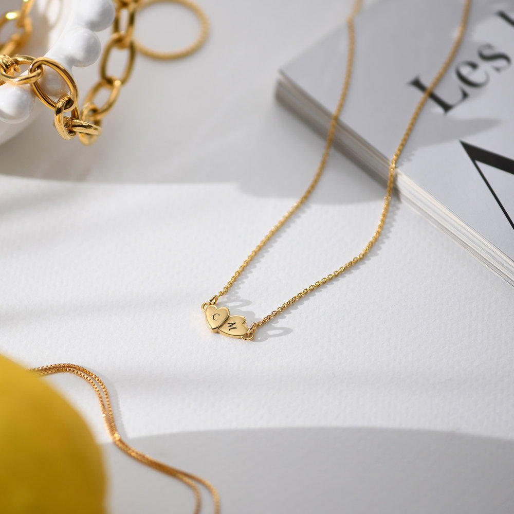 Love Struck Necklace - Gold Plated - 1