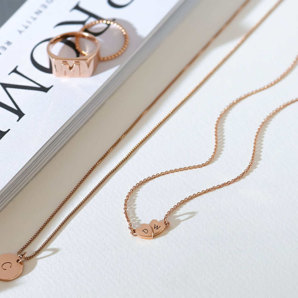 Love Struck Necklace - Rose Gold Plated - 2