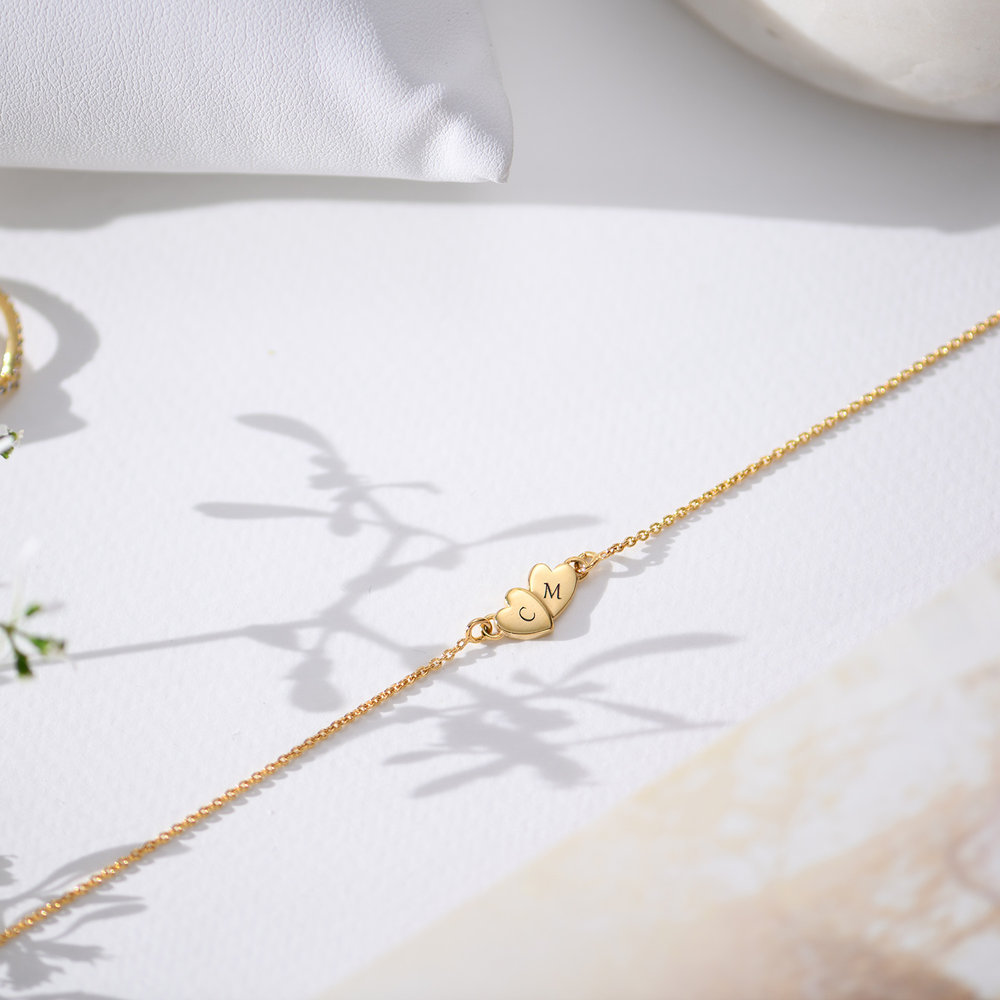 Love Struck Necklace - Gold Vermeil - 1