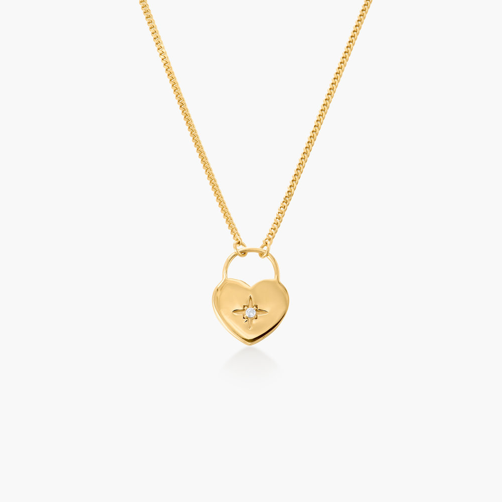 One Love Lock Chain - Gold Plated