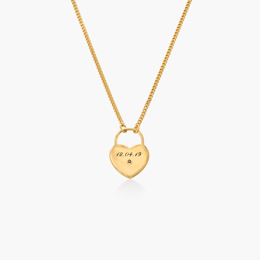 One Love Lock Chain - Gold Plated - 1