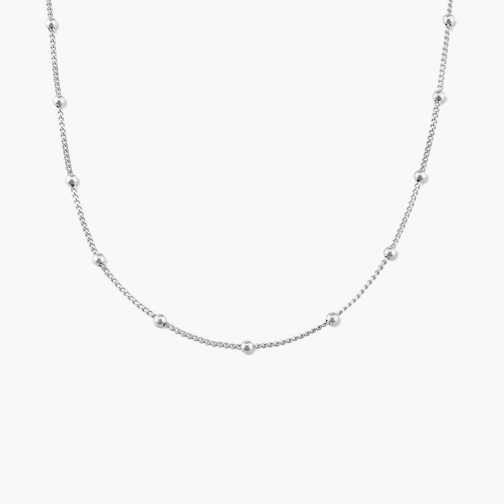 Bobble Chain for Men - Sterling Silver