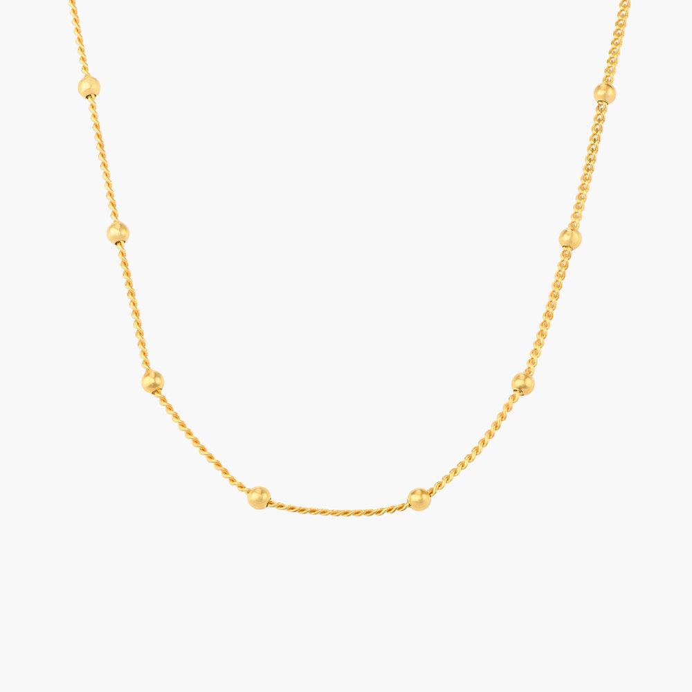 Bobble Chain for Men - Gold Plating