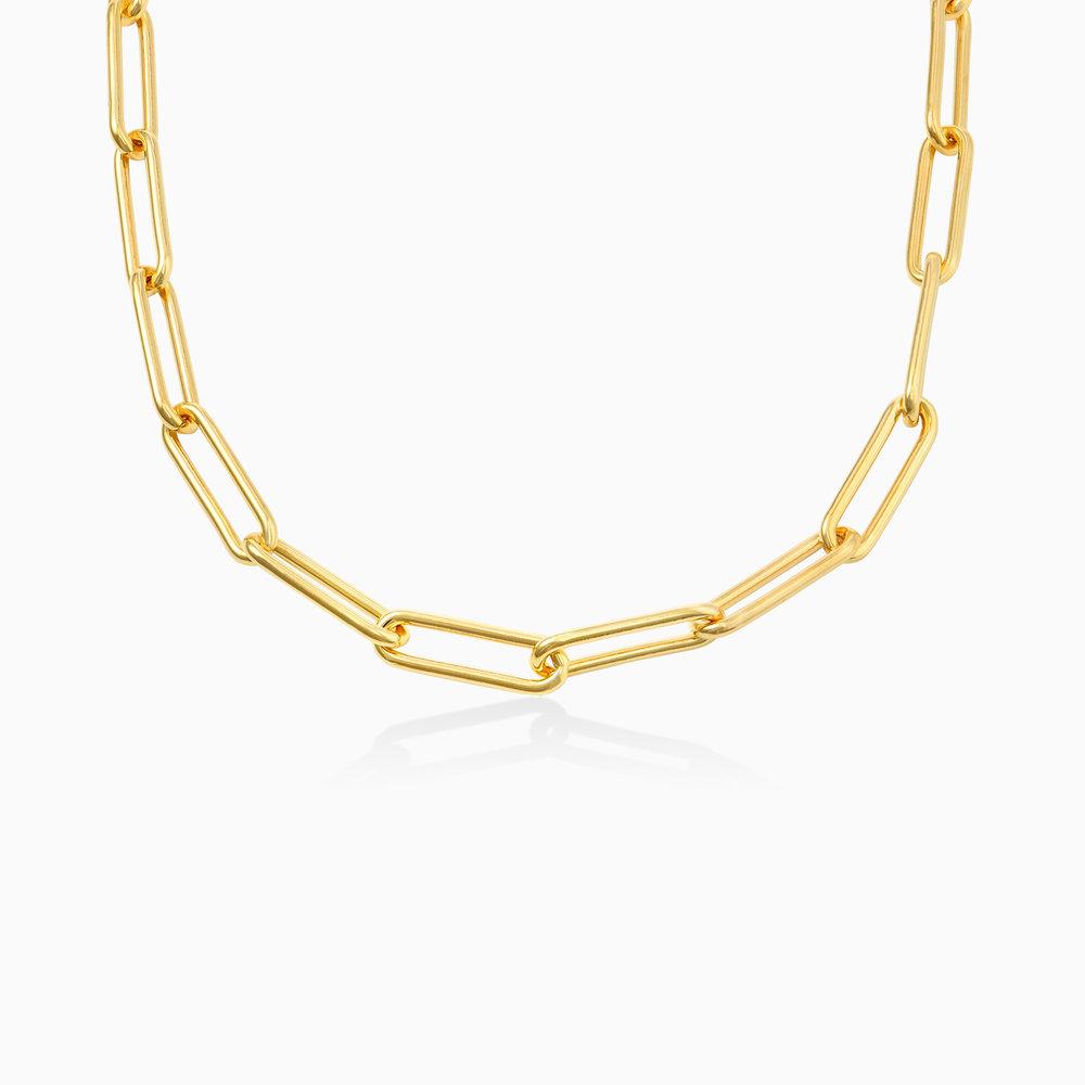 Large Link Chain Necklace - Gold Plating