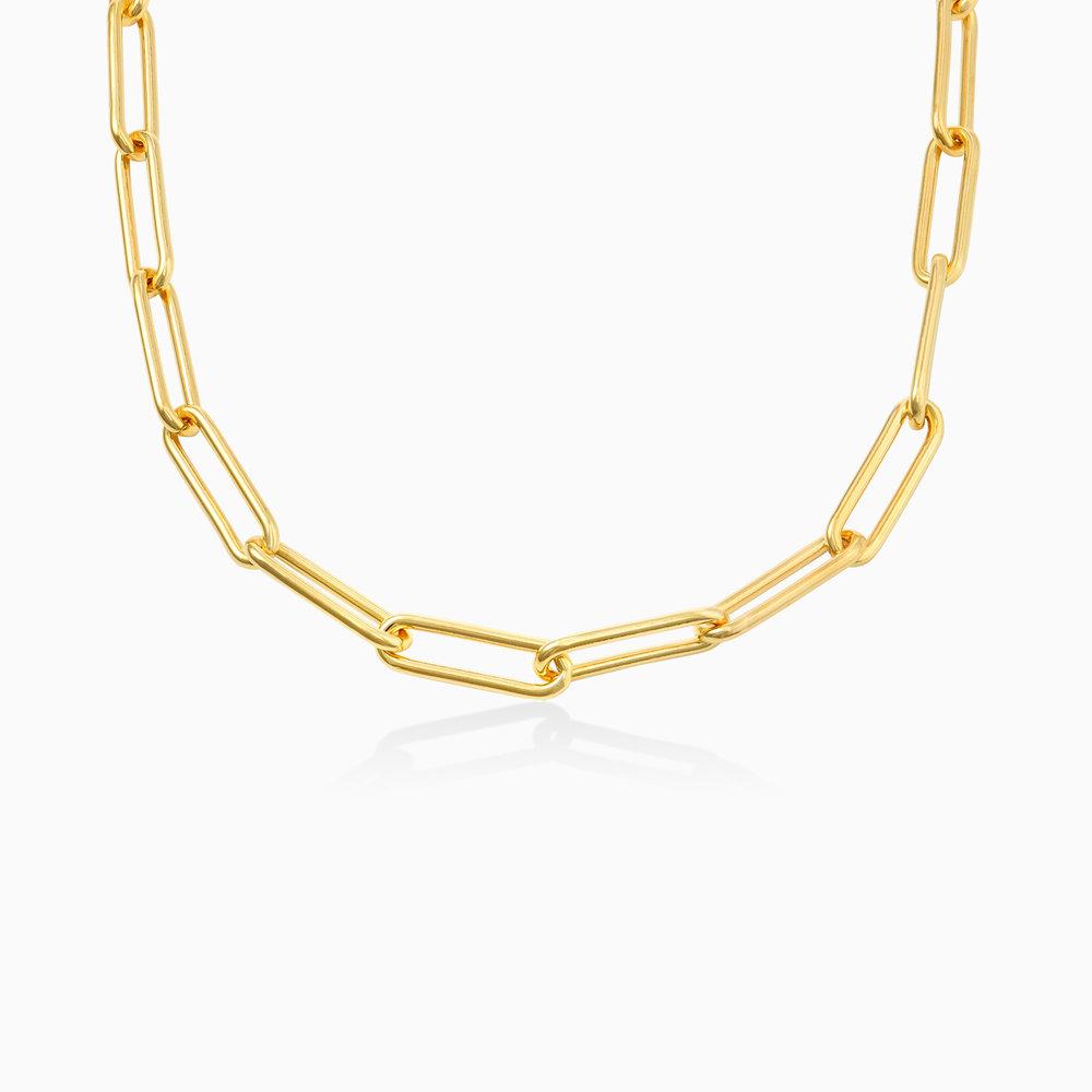 Large Link Chain Necklace - Gold Vermeil
