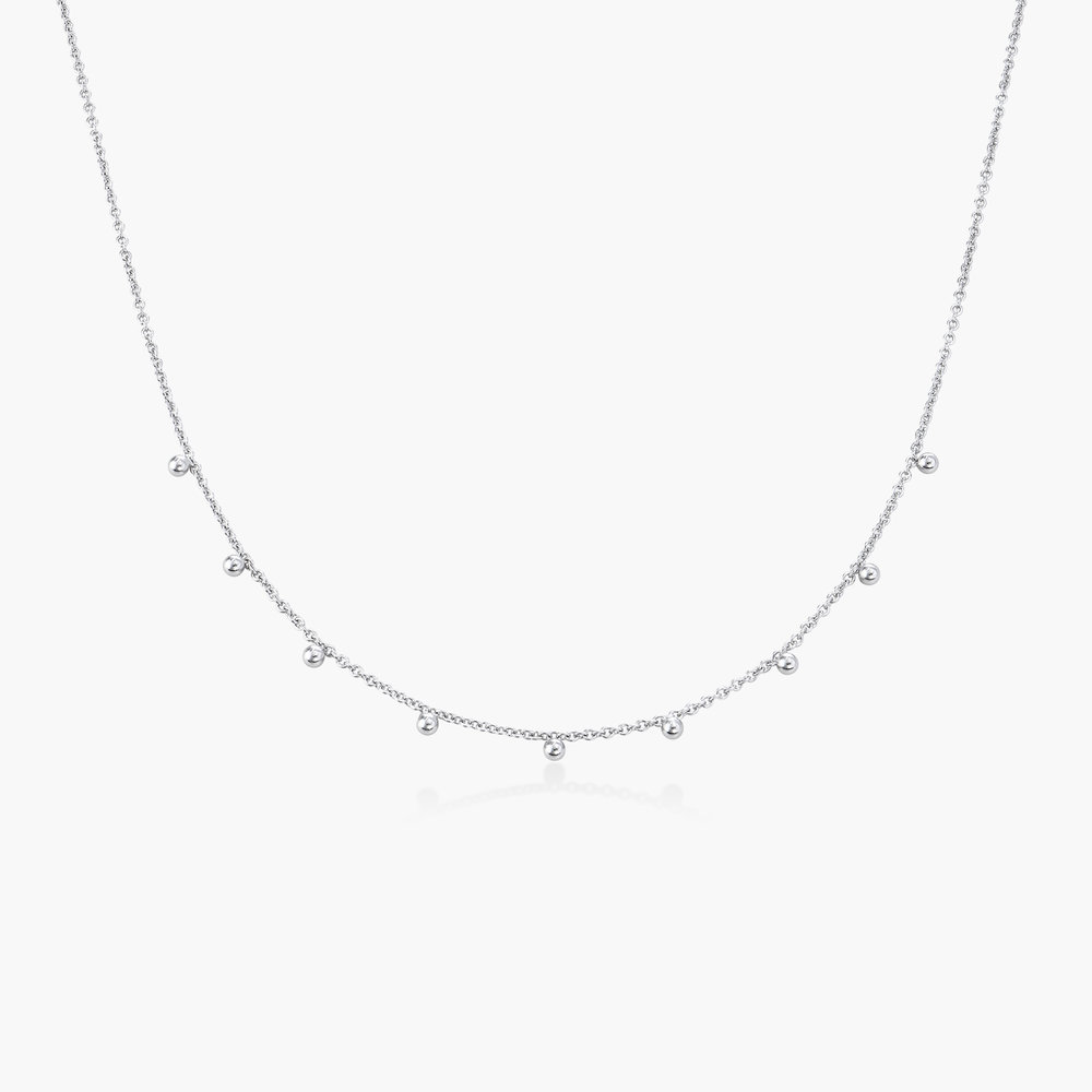 Arya Rolo Chain Necklace - Sterling Silver