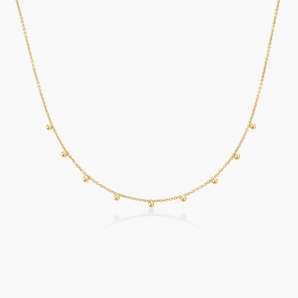 Arya Rolo Chain Necklace - Gold Plating