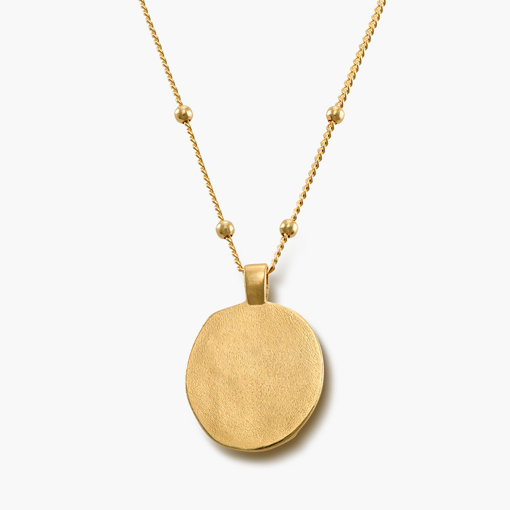 Hygieia Coin Necklace in Gold Plated - 1