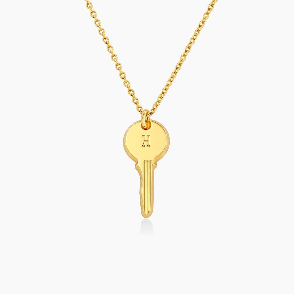 The key necklace - Gold Vermeil