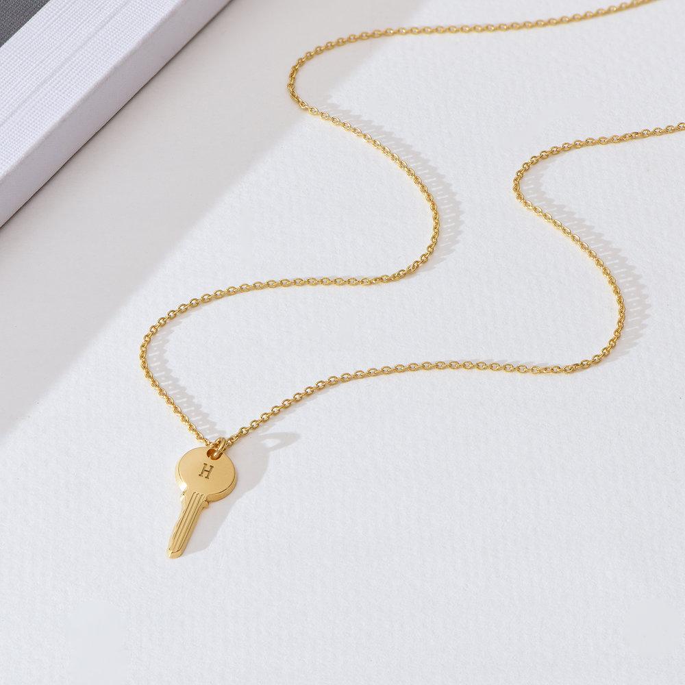 The key necklace - Gold Vermeil - 1