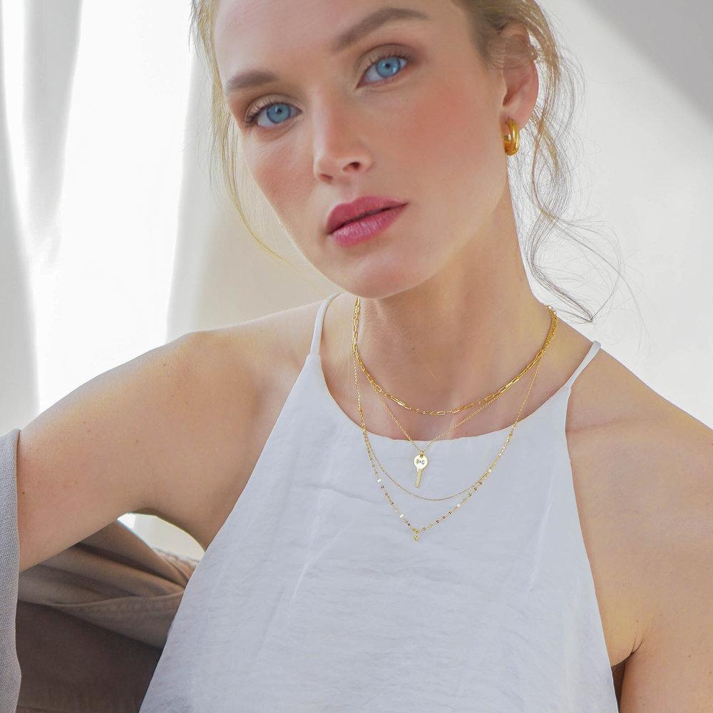 The key necklace - Gold Vermeil - 2