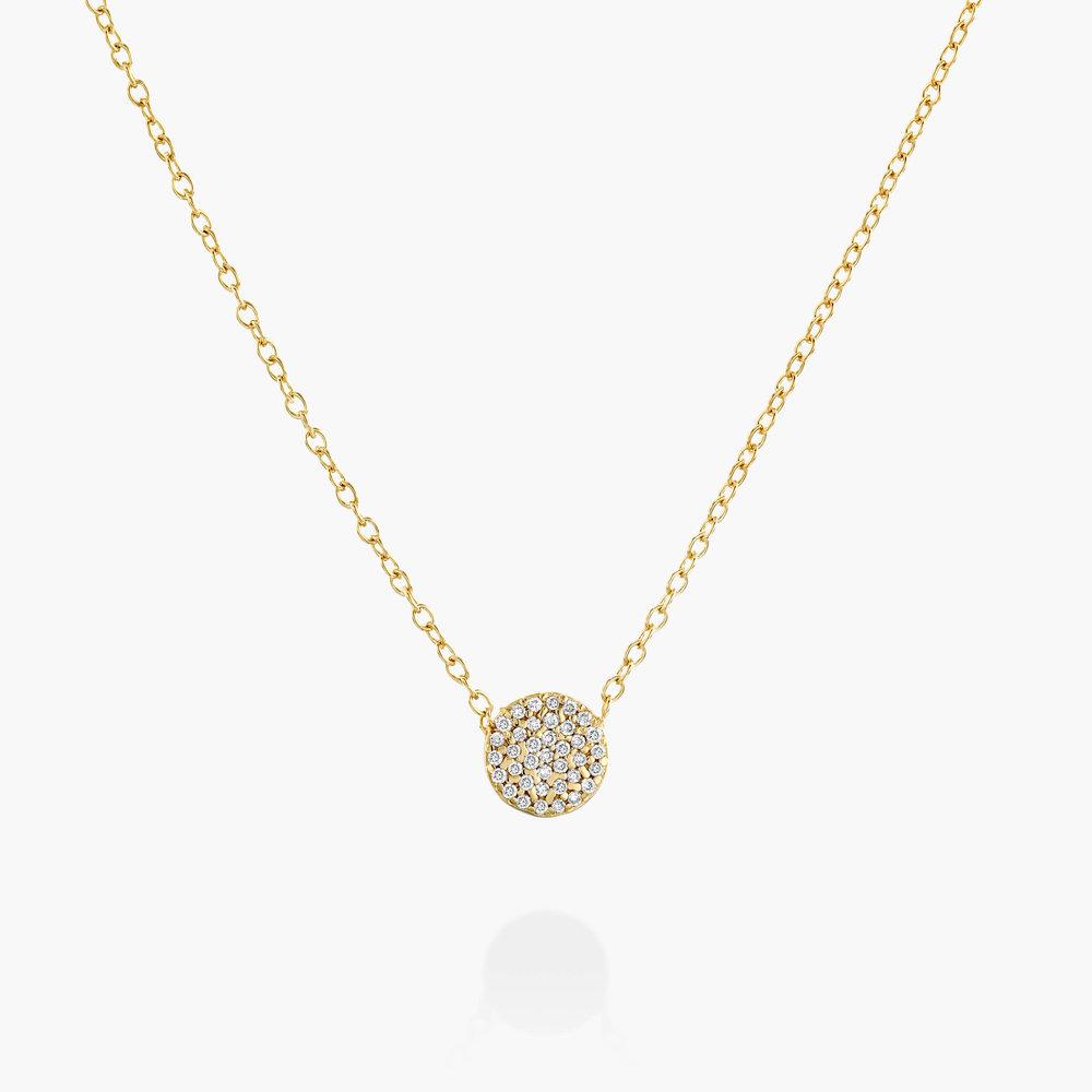 Keeya Pave Diamond Necklace - 14K Solid Gold