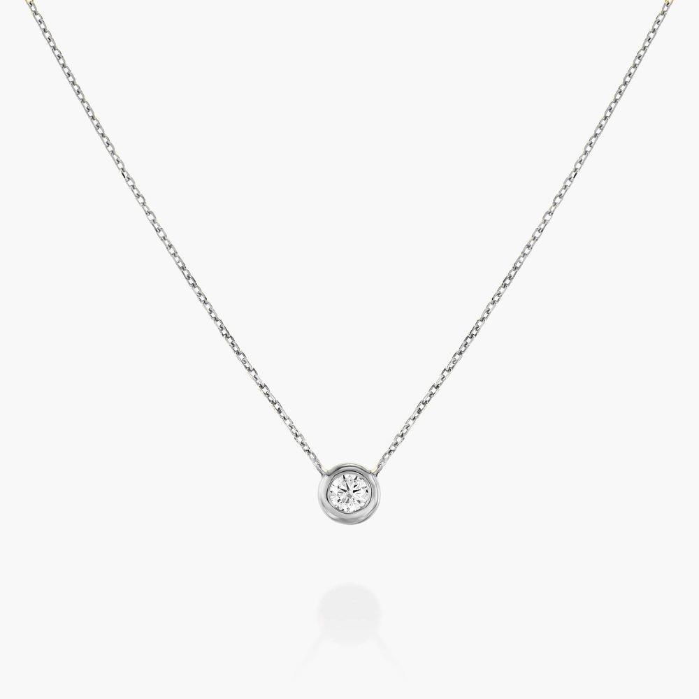 Juno Diamond Necklace - Sterling Silver