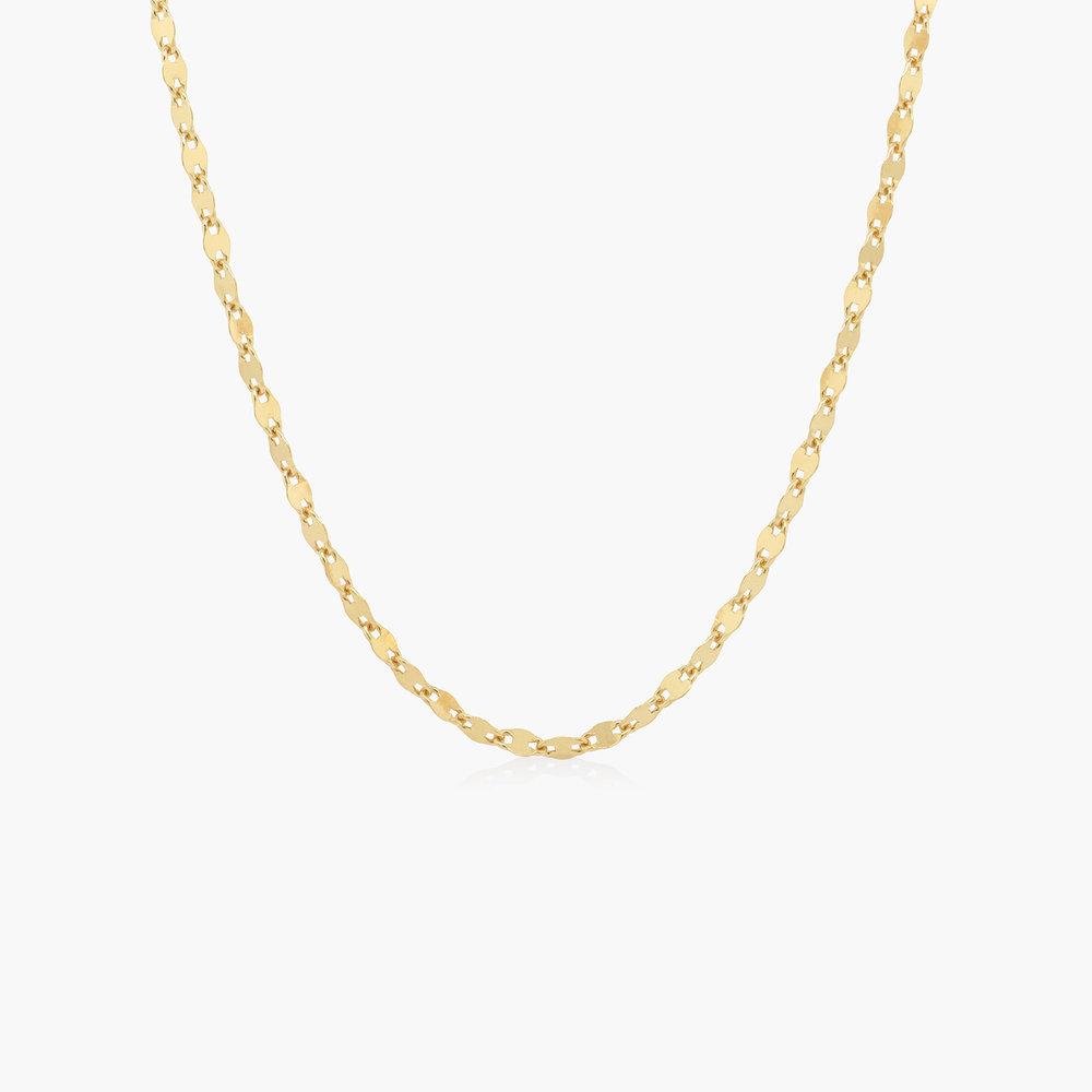 Aria Mirror Chain Necklace - Gold Vermeil