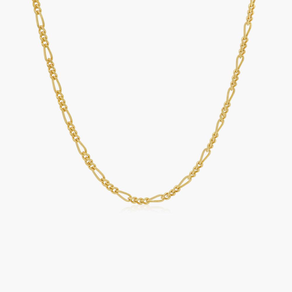Figaro Chain Necklace - Gold Vermeil