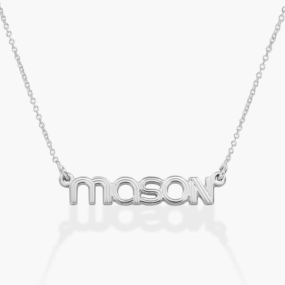 Bonnie Name Necklace - Silver
