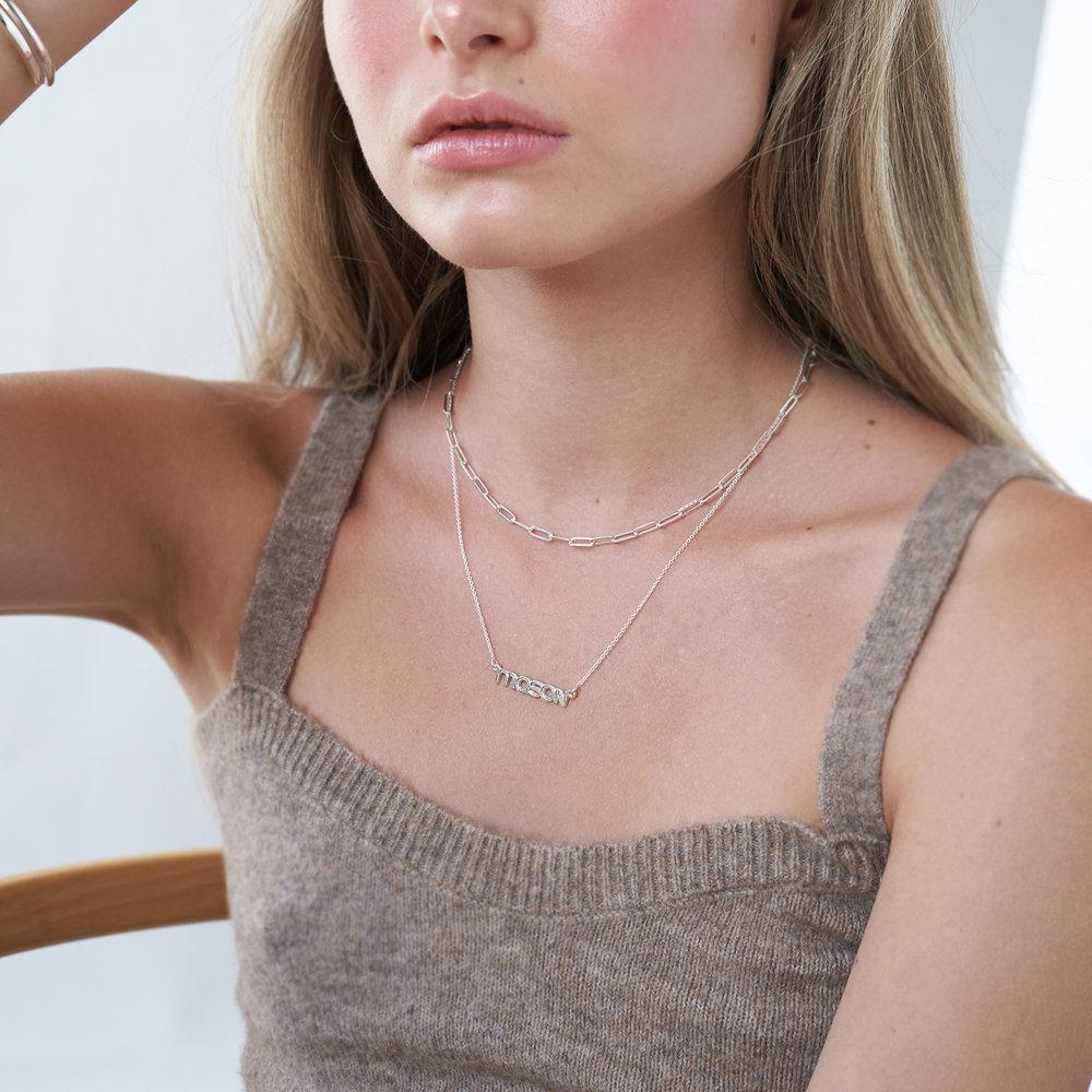 Bonnie Name Necklace - Silver - 3