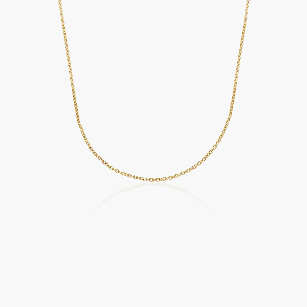 Cable Chain Necklace - 14K Yellow Gold