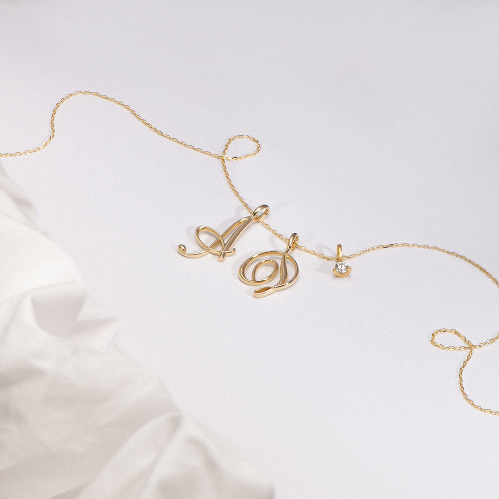 Cable Chain Necklace - 14K Yellow Gold - 1