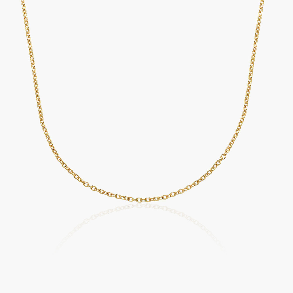 Cable Chain Necklace - Gold Plating