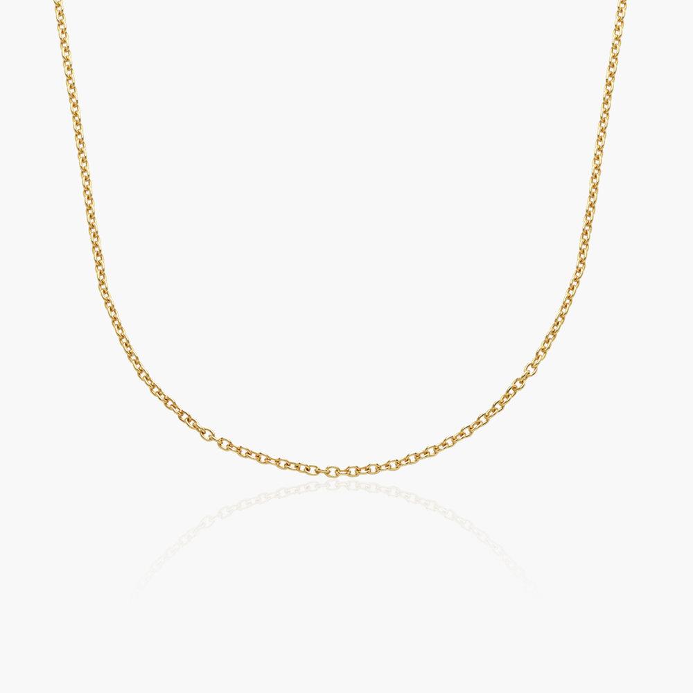 Cable Chain Necklace - Gold Vermeil