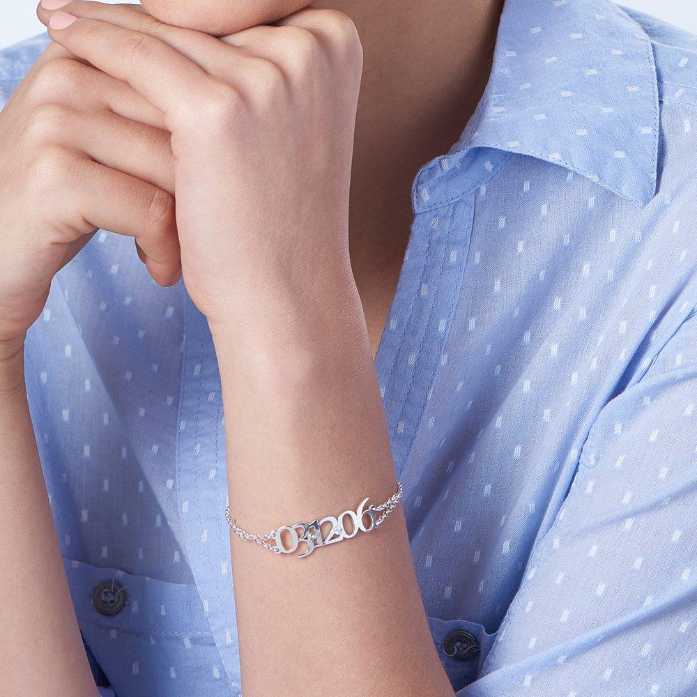 Mark the Date Bracelet - Silver - 3