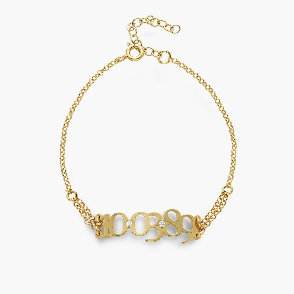 Mark the Date Bracelet - Gold Plated