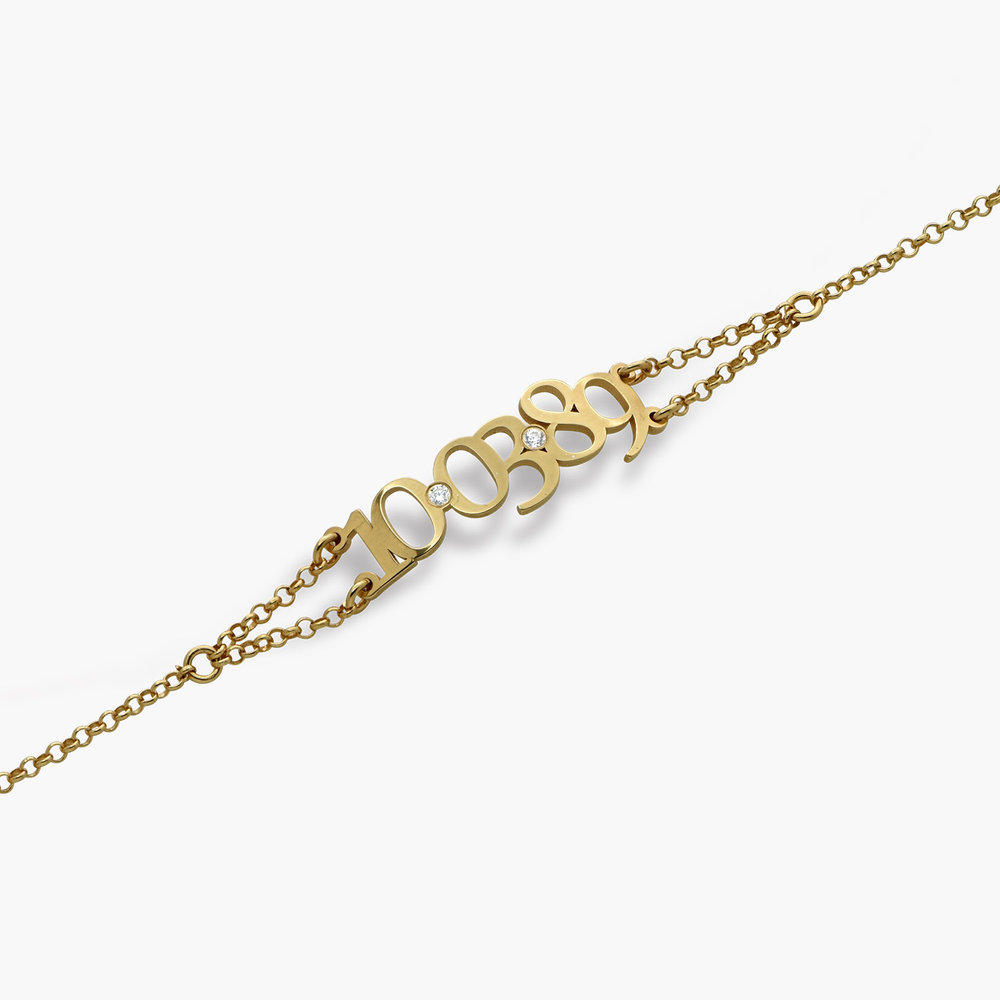 Mark the Date Bracelet - Gold Plated - 1