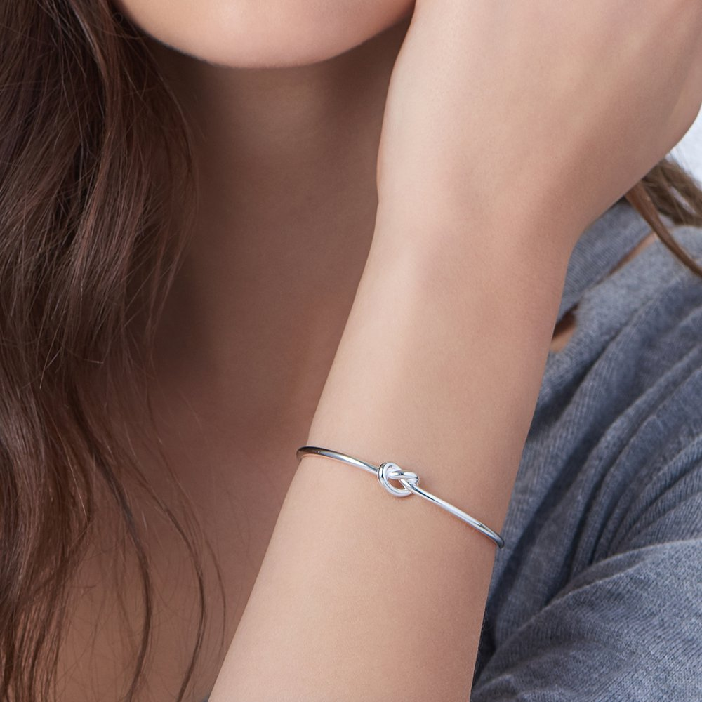 Knot Now Bracelet - Silver - 3