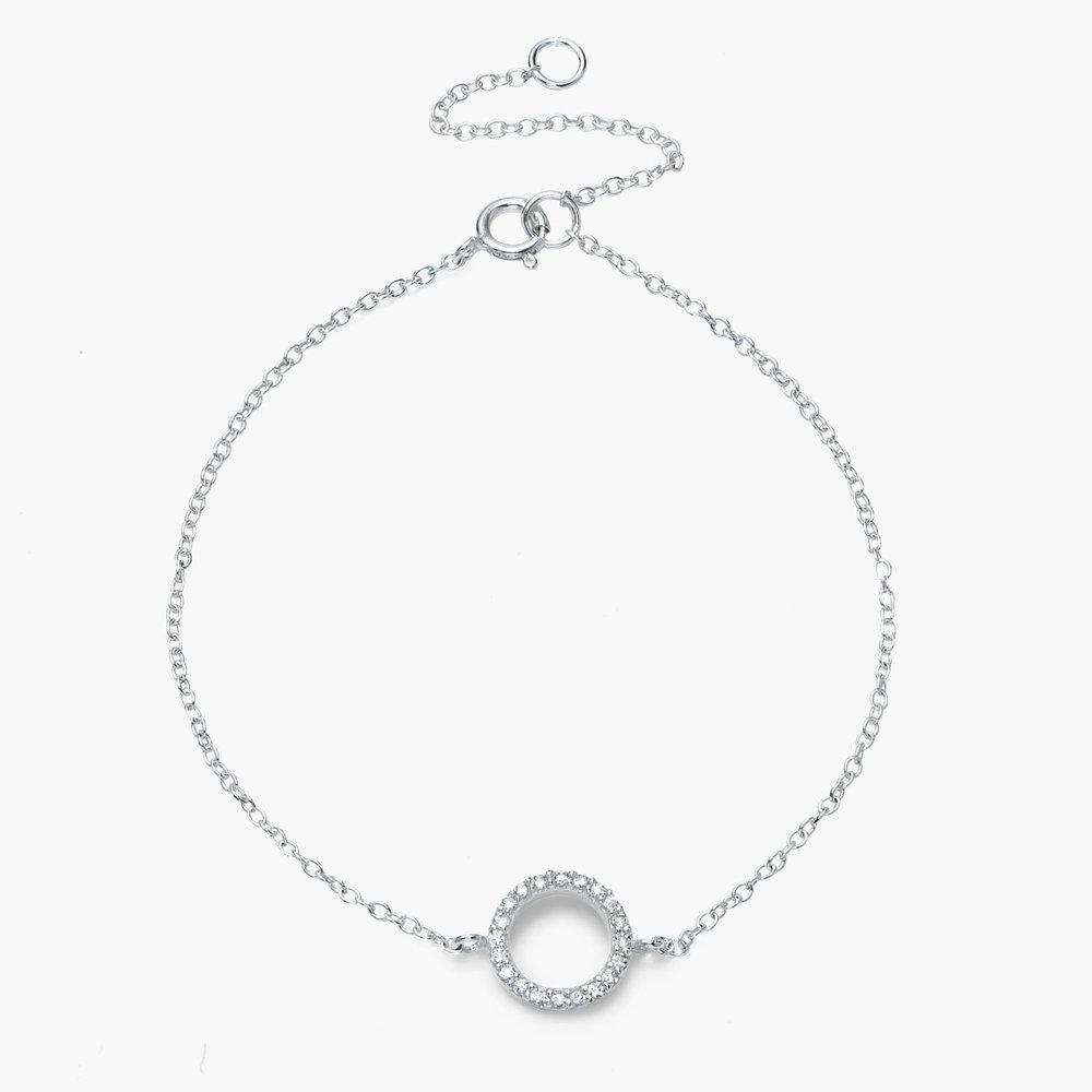 Eclipse Bracelet - Silver