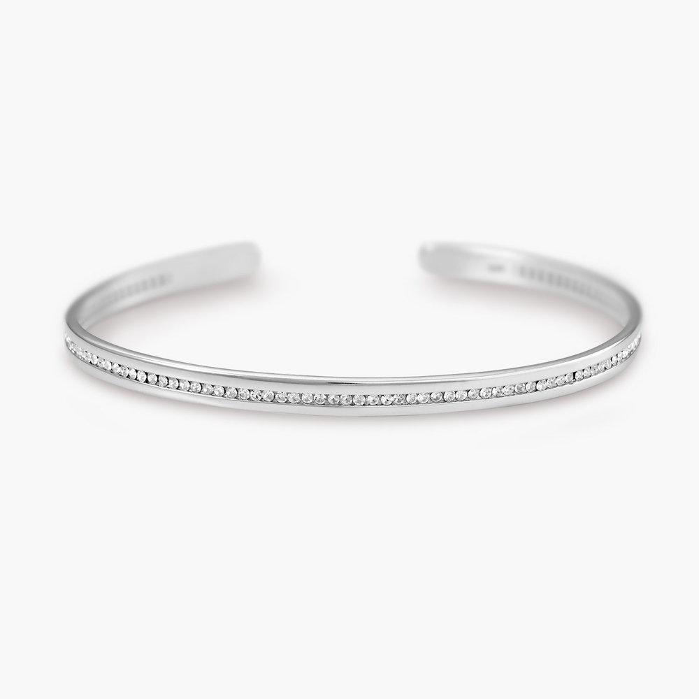 Siren Bangle Bracelet - Silver