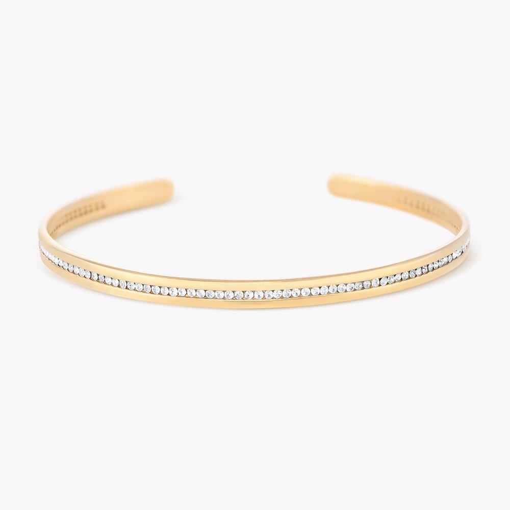 Siren Bangle Bracelet - Gold Plated