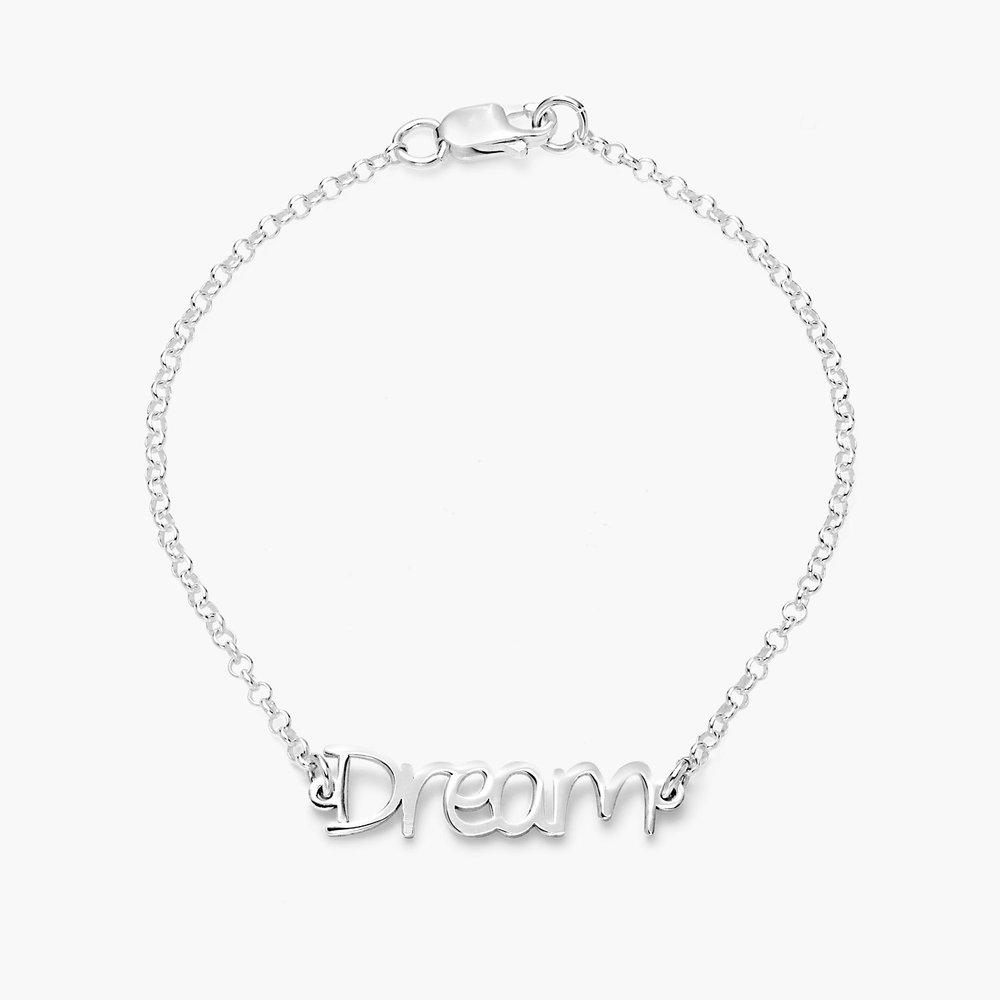 Pixie Name Bracelet - Silver