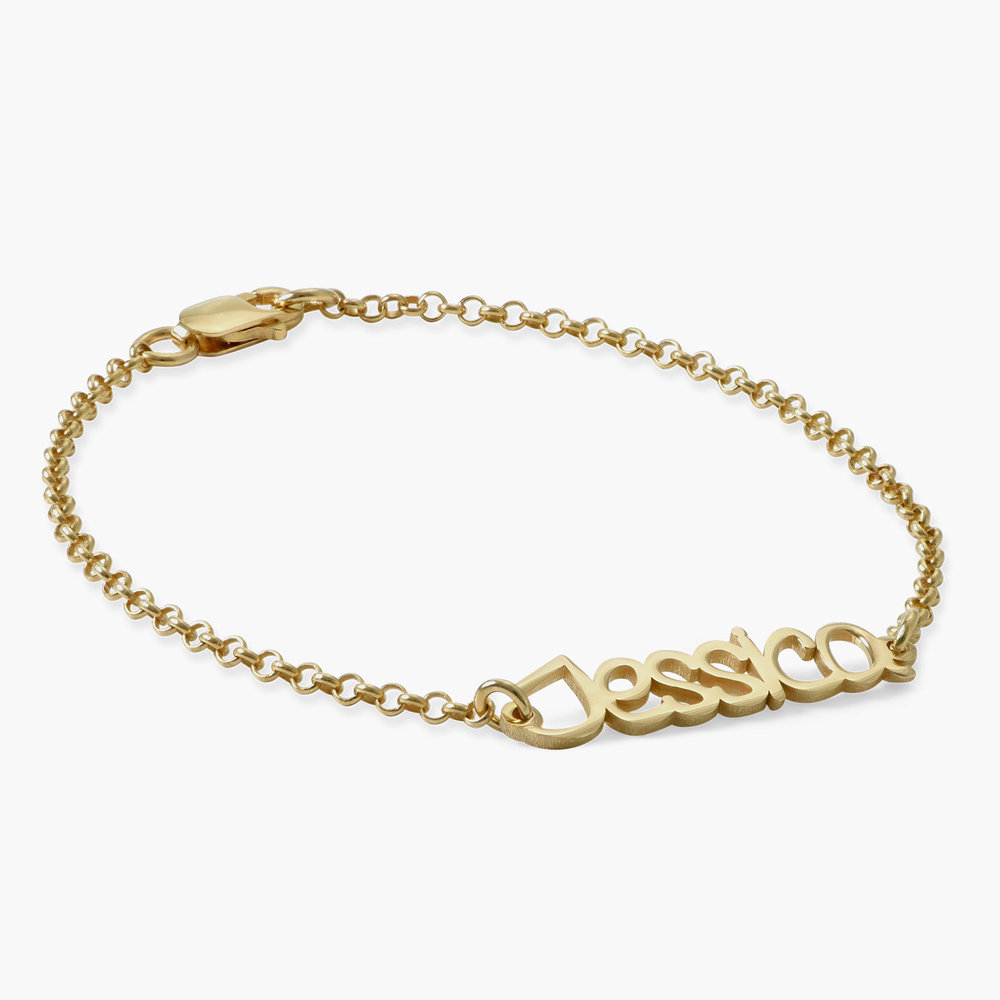 Pixie Name Bracelet - Gold Plated - 1